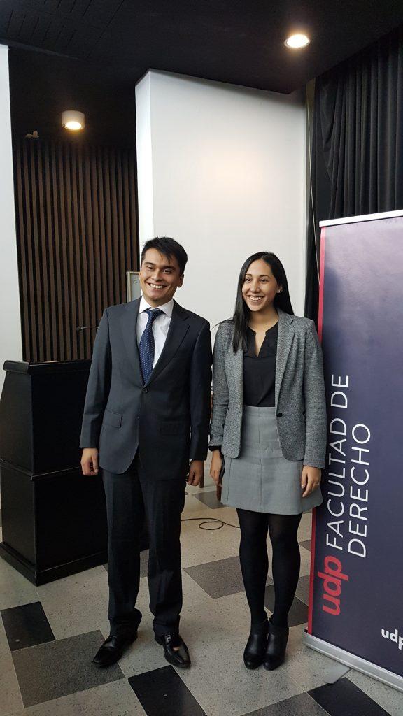 Víctor Machuca y Fernanda Morales